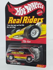 RLC ( Real Riders ) Series 4 ,( 70's Chevy Van ) , # 1 of 6 , 2004 , Chrome