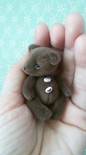 miniature teddy bear baby Bernard 2,2 inches minishtof