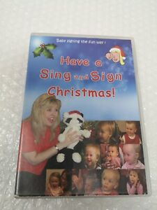 Have a Sing and Sign Christmas DVD Sign Language