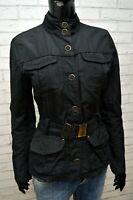 MARLBORO CLASSICS Giacca Nera Donna Taglia 42 S Giubbino Jacket Women's Cappotto