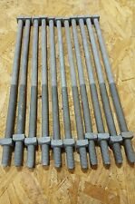 """1/2-13 X 14"""" square bolt hot dipped galvanized  (11pcs) with square nuts"""