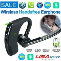 Wireless Bluetooth Hands-free Earphone Earbud Headset For iPhone Samsung Android