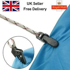 10pcs Tent / Tarp / Awning Clamp Clips for Camping. Survival Gear.