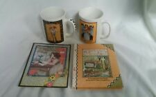 Mary Engelbreit Coffee Or Tea Mugs/Cups + Changling Book And Card