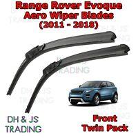 (11-18) Range Rover Evoque Aero Wiper Blades / Front Flat Blade Land Rover L538