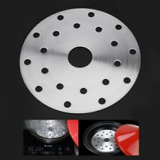 1xStainless Steel Cookware Thermal Guide Plate Induction Cooktop Converter Disk