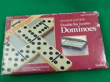 Double Six PREMIER EDITION Dominoes With Box 1993 Cardinal New Vintage
