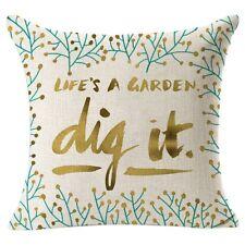 Vintage Geometric Home Decoration Linen Cotton Throw Pillow Case Cushion Cover