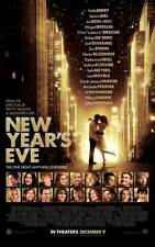 NEW YEAR'S EVE Movie Promo POSTER C Michelle Pfeiffer Zac Efron