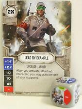 Star Wars Destiny - #059 Lead by Example + Dice - grey - Empire at War