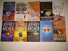 Jeffrey Archer Paperback X 10 - JOBLOT - Sons Of Fortune / Fourth Estate