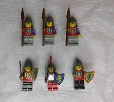 Lego Castle Minifigures Vintage Kingdom Royal Knights Shields Weapons L4