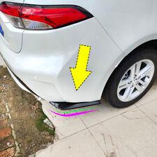 Pair Car Rear Bumper Lip Wrap Diffuser Splitter Protector Spoiler PP Universal