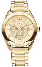 Relojes de pulsera de oro de día y fecha de mujer