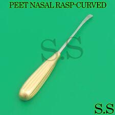 Peet Nasal Rasp Curved Diamond Surface 175cm Plastic Surgery Instruments