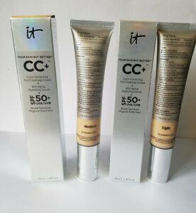 IT Cosmetics Your Skin But Better CC+ Cream SPF 50+ 32ml - SHADES LIGHT/MEDIUM