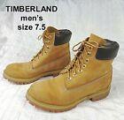 Timberland  6-Inch Tall Premium Boots Wheat Nubuck 10061 Men's Size 7.5