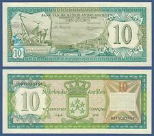 NETHERLANDS ANTILLES  10 Gulden 1979  UNC  P.16 a