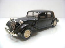 Diecast Solido Citroen 15 Six 1:43 in Black Very Good Condition