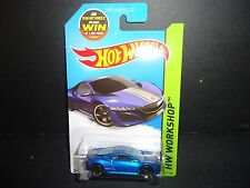 Hot Wheels Acura NSX Concept 2012 191/250 Blue 1/64 985F
