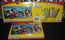 (3) Packs Disney Mickey Mouse Clubhouse Crayons - 3 Pack 8 Count