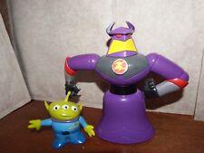 "Bundle Disney Toy Story talking 7"" Emperor Zurg + 3.5"" Alien figure toy playset"