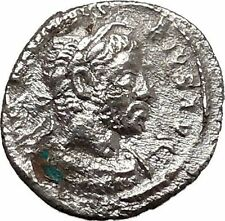 ELAGABALUS  sacrificing over altar 222AD Ancient Silver Roman Coin i43321