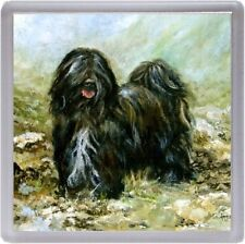 Tibetan Terrier Dog Coaster No 7SH by Starprint from a painting by Susan Harper