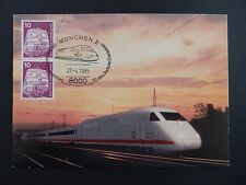 BRD MK 1985 847 EISENBAHN TRAIN RAILWAY MAXIMUMKARTE MAXIMUM CARD MC CM a9265