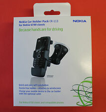 "GENUINE NOKIA CR-113 Car Holder Pack for NOKIA 6700 ""BRAND NEW"""