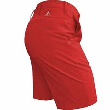 """adidas Golf 2017 Mens Stretch Ultimate Shorts Breathable Water-resistant 36"""" Waist Scarlet"""