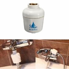 Universal Shower Head In-Line Filter Faucet Water Softener Remove Chlorine