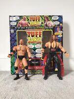 WCW Tuff Talkin Wrestlers Electronic Interactive Figures Goldberg & Kevin Nash