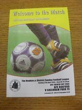 27/04/2014 Newbury DOMENICA LEAGUE VIC finale del campionato francese: AFC azzerabile V nazionalismo PA