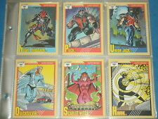 Marvel Comics: MARVEL UNIVERSE Series 2 Near Complete Set Of Trading Cards 1991