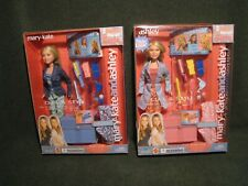 Set of New 2002 Mary-Kate & Ashley Curl & Style dolls