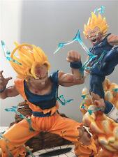 Dragon Ball Z 1/4 escala Kakarotto vs Vegeta Resina GK figura estatua de coleccionistas N