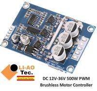 DC 12V-36V 500 W Brushless Motor Controller Hall Motor équilibré pilote automobile B L8M3