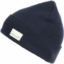 ANERKJENDT Lawson Beanie Hat  Wool Hat Winter Navy One Size BNWT