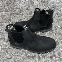 Muck Boot Men's Chelsea Rain Boot, Black, Size 11
