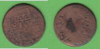 Aachen Cu 12 Heller möglicherweise 1761 (Tb.W) stampsdealer