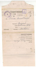 1943 Germany Prisoner of War POW Camp Letter Cover Stalag 7A to Serbia Judaica