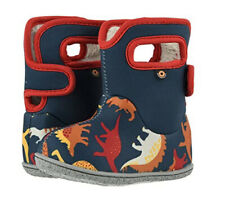 Bogs Baby Dino Waterproof Insulated Boots Indigo Multi Size 5 NIB