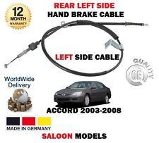 PARA Honda Accord 2.0 2.2 CDTi 2.4 2003-2008 NUEVO Lado Izq. habd CABLE DE FRENO