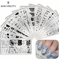 BORN PRETTY Texture Artist Nail Stamping Plates Template Images Printing Polish