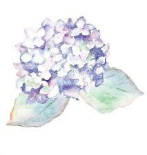 Purple Hydrangeas Flowers Wallies 12148