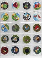 ANGRY BIRDS Tazos Pogs Frito Lay Colombia Colección Completa 1-48 Complete set
