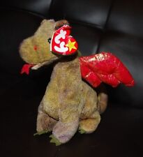 Ty Beanie Baby Scorch Dragon Bean Bag Plush Stuffed Animal Collectible Toy Boys