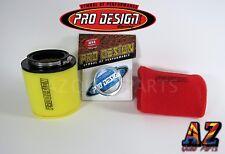 04 05 Honda TRX450R TRX 450R Pro Design Pro Flow Foam Air Filter Intake Kit UNI