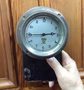 SUPERB VINTAGE SMITHS CAR CLOCK FITS BENTLEY ROLLS ROYCE MG